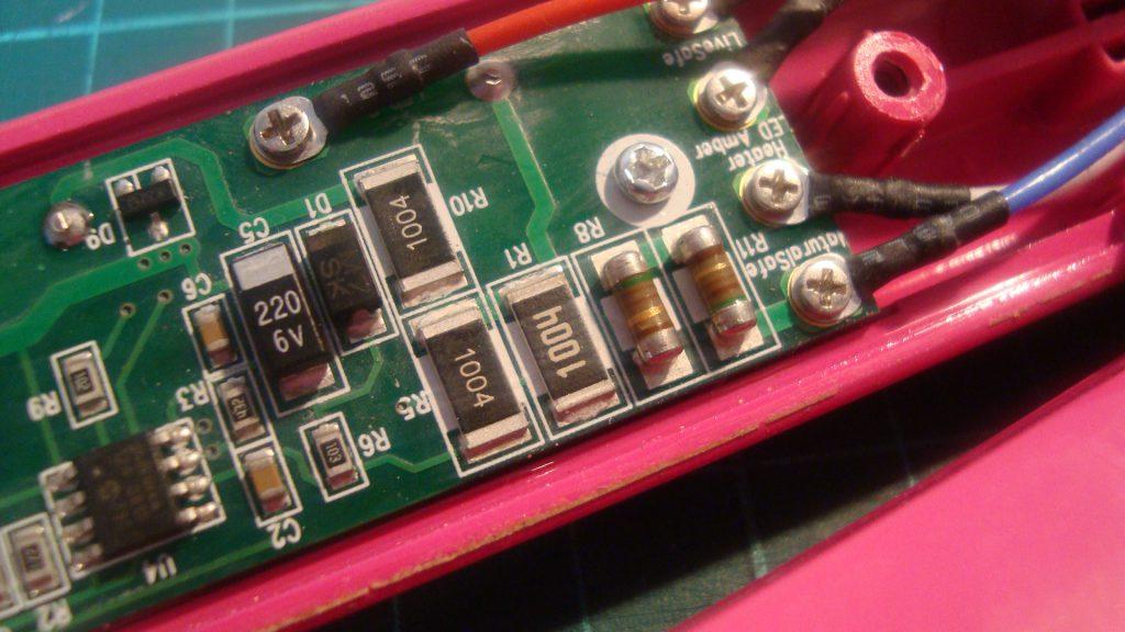 R11 and R8 GHD resistors
